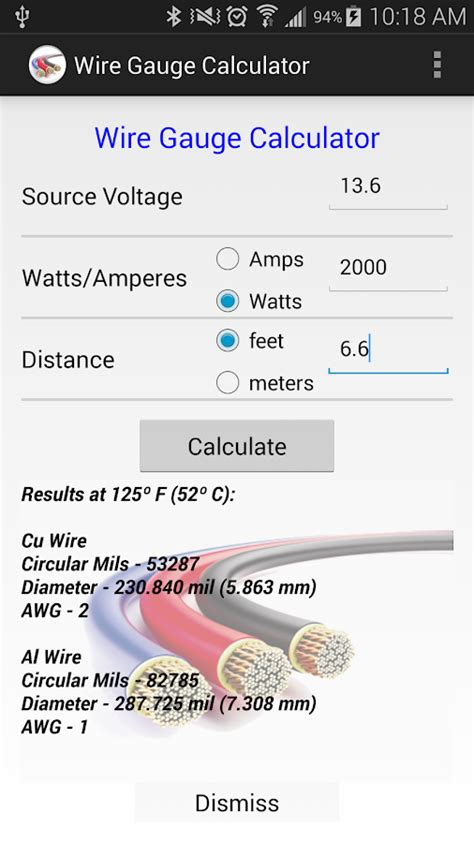 electrical wire calculator what is the formula for calculating cable size