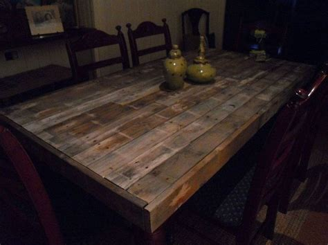 Pallet Wood Dining Table Dining Table Wood Pallet Dining Table