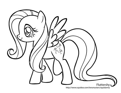 My Little Pony Coloring Pages Free Printable Pictures My Pony Color Page
