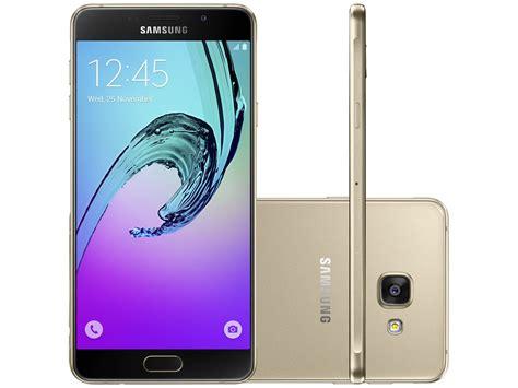 Samsung A7 smartphone samsung galaxy a7 2016 duos 16gb dourado dual