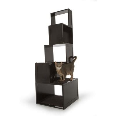 stylish cat tree the sebastian modern cat tree