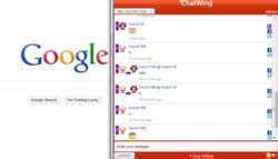adsense live chat aspiring google adsense users have been using chatwing web