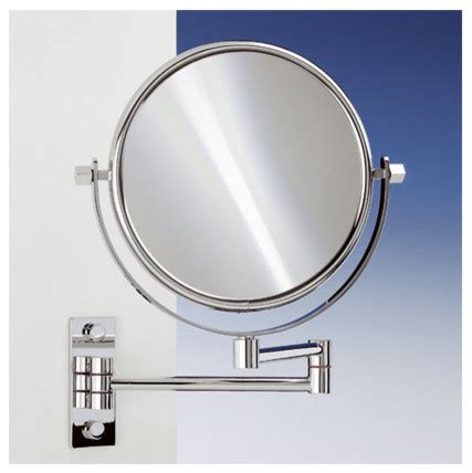 wall mounted extendable mirror bathroom 18 9 quot extendable double face wall mounted 5x magnifying