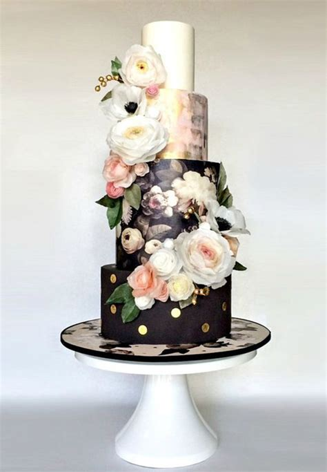 Black Wedding Cakes by Black Wedding Cake Ideas 100 Layer Cake Bloglovin