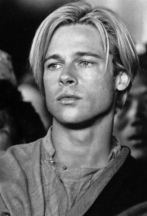 brad pitts haircut in seven young brad pitt haircut www imgkid com the image kid