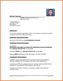 microsoft office 2010 resume templates resume sle