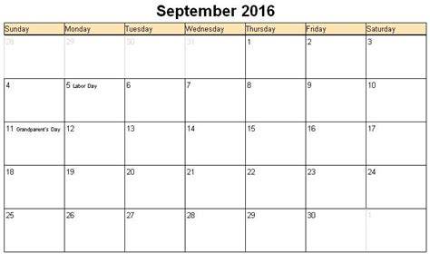 printable calendar 2016 september calendar template printable calendar download calendar free