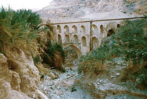 Jericho Original file aquaduct near jericho eretz israel jpg