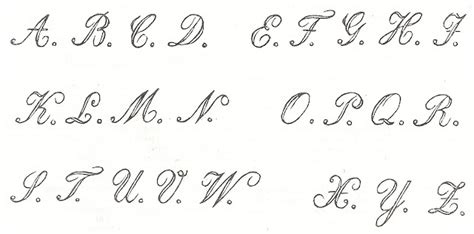 antique graphics wednesday   antique alphabet