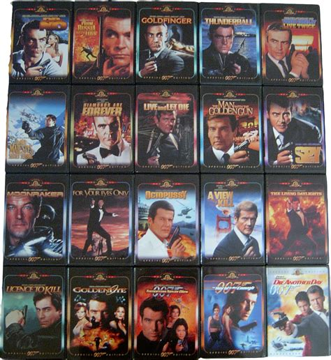 james bond film in cinema james bond 007 movies dari tahun 1962 2006