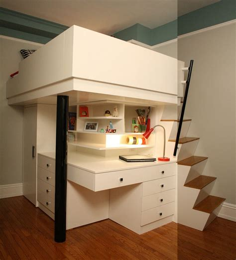bunk bed with built in desk 51 built in bunk beds ideas for sweet home gallery gallery