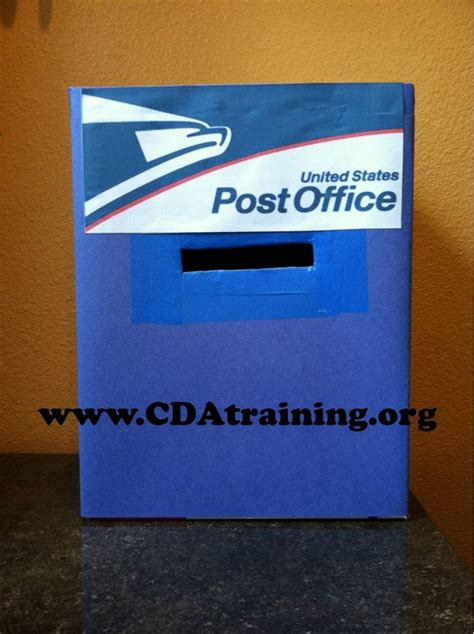 How To Make Letter Box With Paper - 123 play and learn child care basics resources post
