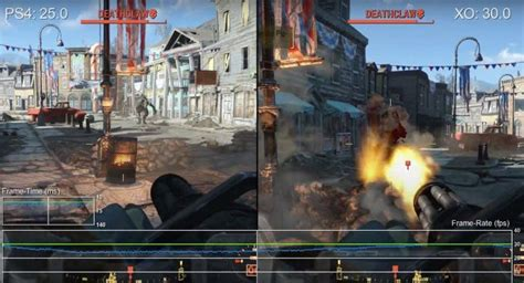 frame rate fallout 4 framerate problems on ps4 vs xbox one product