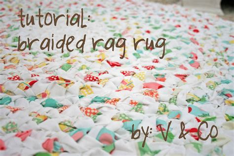 How To Make Handmade Rag Rugs - braided rag rug natureslittleways