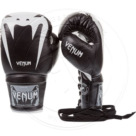 100 Leather Sarung Tinju Venum Glove Size 10 12 14 Oz 1 venum venum quot 2 0 quot boxing gloves black laces nappa leather
