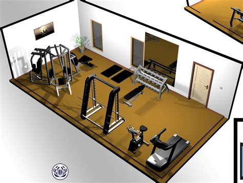 Home Exercise Room Design Layout | home gym home gym design power tower free weights
