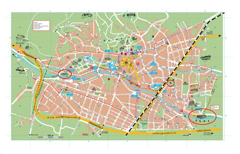 map of the city of baden city map baden austria mappery