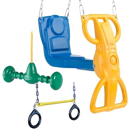 wind rider glider swing swing n slide wild ride accessory bundle with wind rider