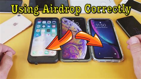 iphone xxsxr    airdrop  transfer photosvideos wirelessly youtube