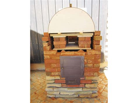 backyard wood fired oven build the backyard wood fired pizza oven make