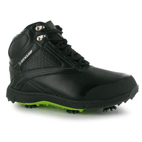 dunlop mens biomimetic 300 golf shoes waterproof lace up