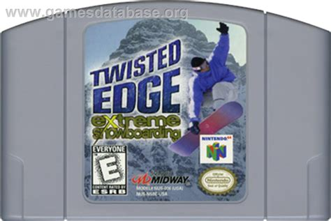 Twisted With An Edge twisted edge snowboarding nintendo n64