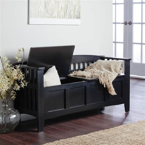 entryway bench black decorating black wooden entryway storage bench with