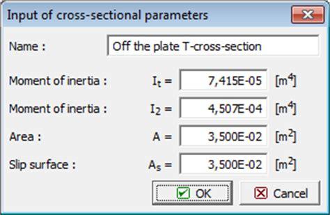 types of cross sections types of cross section beams geo5 online help