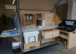 cer trailer kitchen ideas photos of galley options teardrops etc