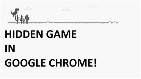 chrome game dino google chrome dinosaur game youtube