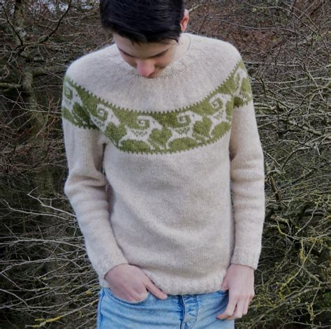 pattern for knitted goat sweater goat wrangler sweater knitting pattern by jane howorth