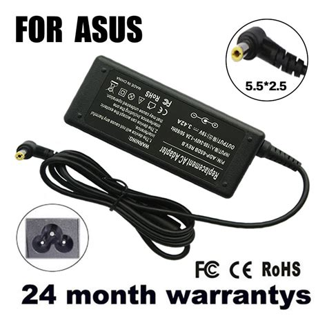 Asus Laptop Charger Cheap cheap replacement for asus 19v 3 42a 5 5 2 5mm 65w k50ij k40ij x550c a52f k501 k50ij k50i k52f