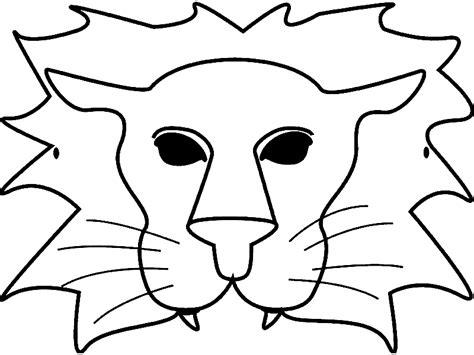 Dibujos para colorear de Mascaras, caretas, Plantillas