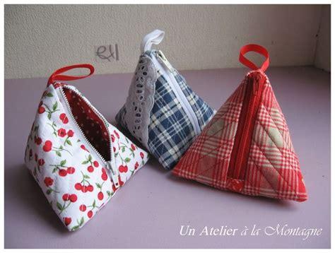 Tuto Porte Monnaie Triangle by Cadeaux D Amiti 233 Porte Monnaie Berlingots Un Atelier 224