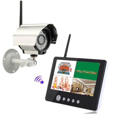 wireless 4ch qiad dvr vision 9 quot tft lcd