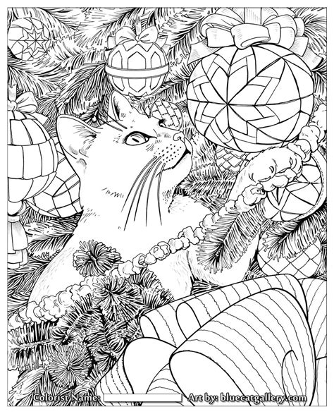 adult christmas coloring page az coloring pages