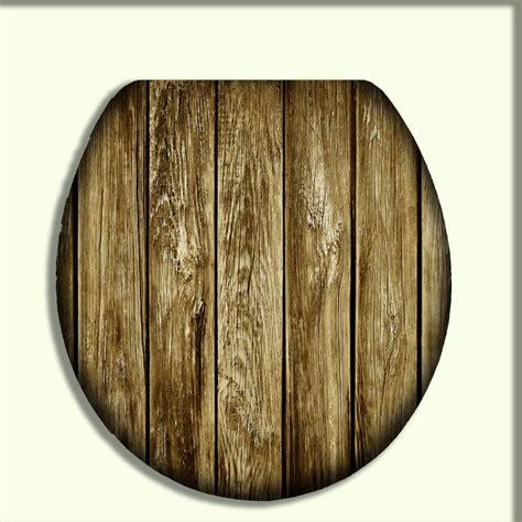 toilet seat  rustic brownish grey reclaimed wood