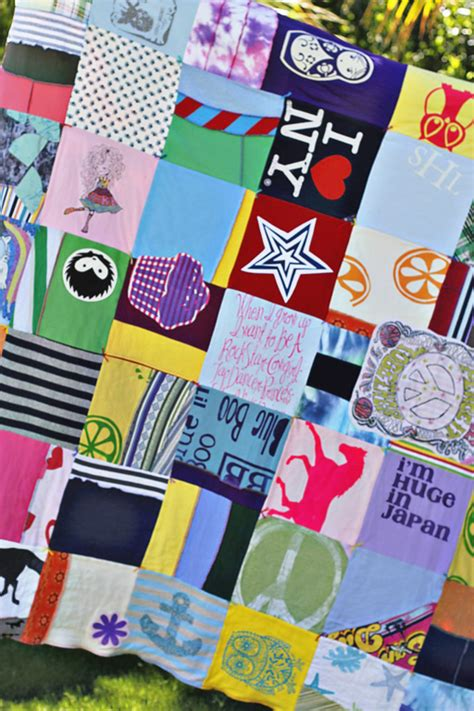 Make Quilt Out Of T Shirts by A T Shirt Quilt A Tutorial