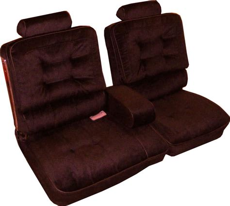 buick regal seats seat upholstery 1981 87 buick regal bench w armrest seat