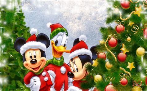 imagenes feliz navidad disney imagenes mickey y minnie en navidad caricaturas disney