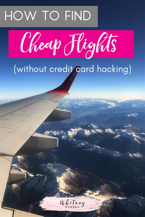 how to find really cheap international flights without credit card hacking hansen