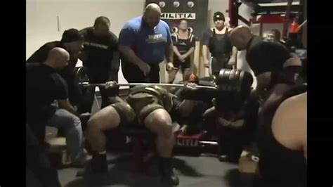 max bench press record 1010 lb world record bench press gene rychlak jr