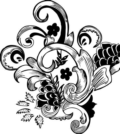 flower pattern vector png ornamentai www tigas lt