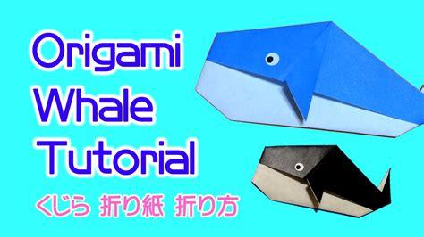origami whale tutorial origami whale tutorial images