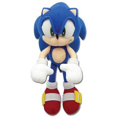 sonic plushies sonic the hedgehog mini sonic plush 7 75 inch anime gamer