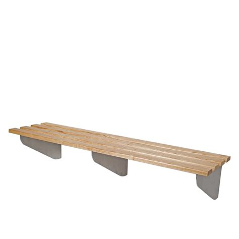 cantilever bench classic heartwood wall fixed cantilever changing bench seating