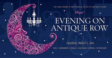 Pbc Of Friendship evening on antique row notables