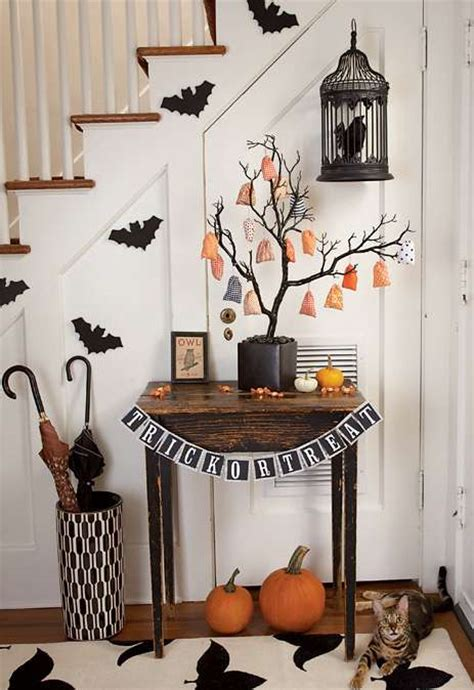 halloween home decoration spooky interior design scary halloween decor