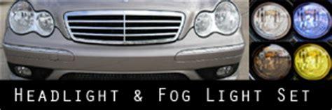 05 07 mercedes benz c class sedan lighting protection kits