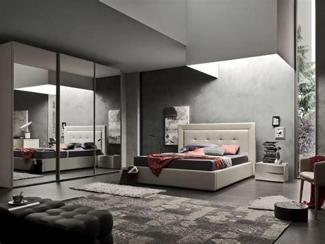 acf mobili deo letto matrimoniale imbottito design moderno